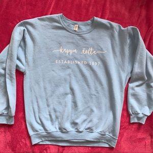 Light Blue Kappa Delta Sweatshirt